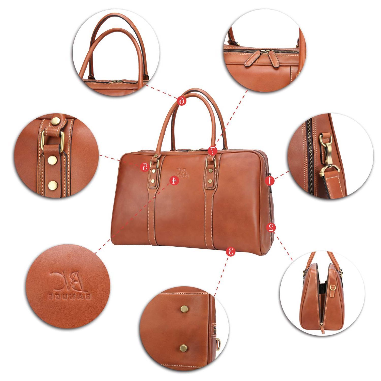 Banuce Vintage Leather Travel Men