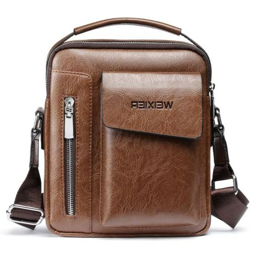 men s soft leather messenger satchel bags