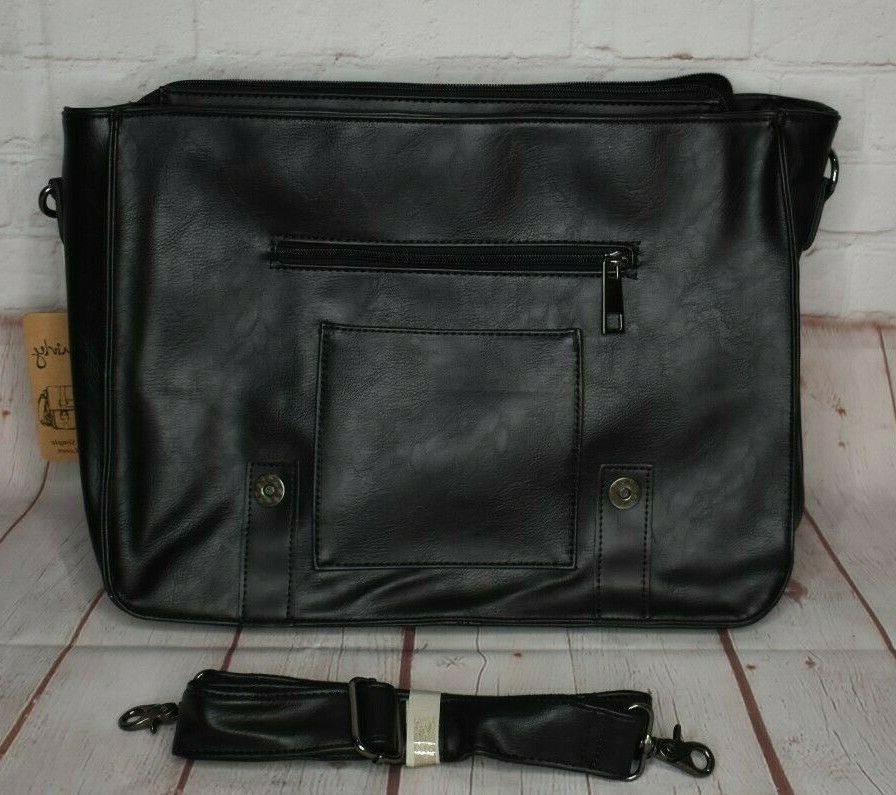 Berchirly Vintage Briefcase Bag