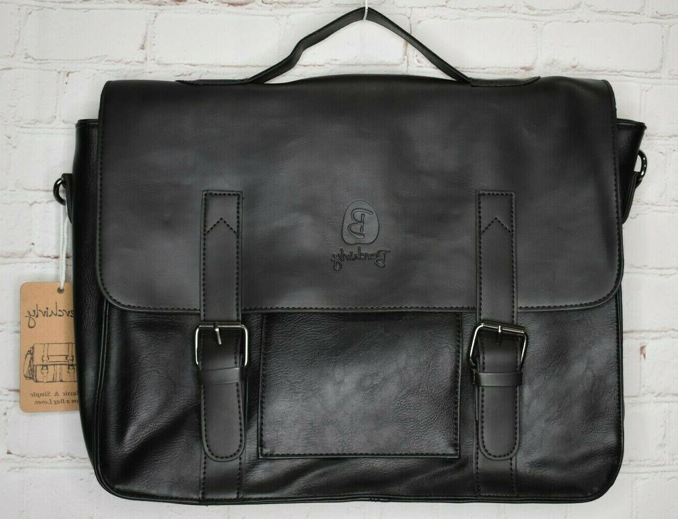 vintage style leather briefcase leather shoulder messenger
