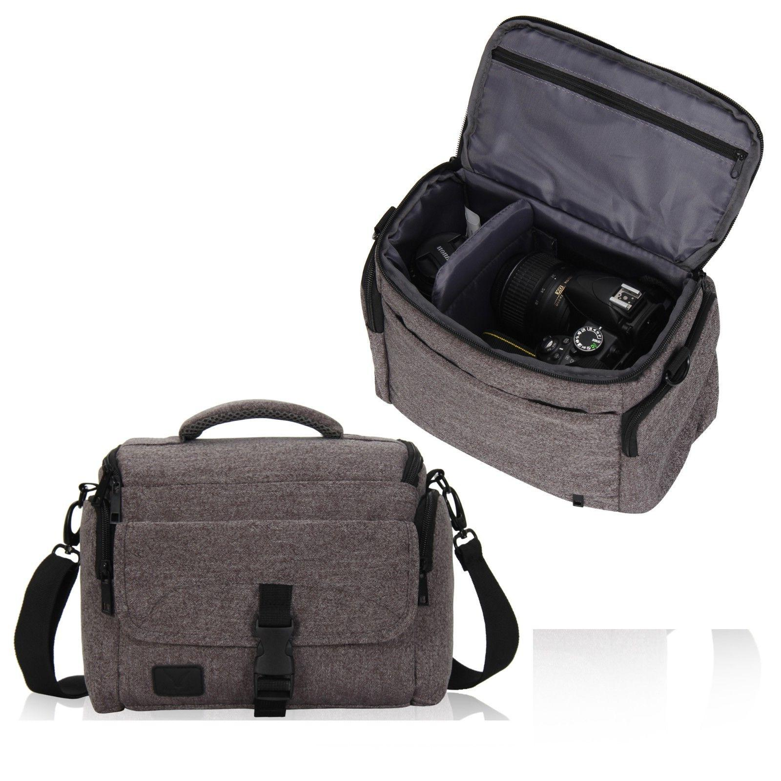 Water-resistant Camera Shoulder Bag Shockproof Messenger Bag