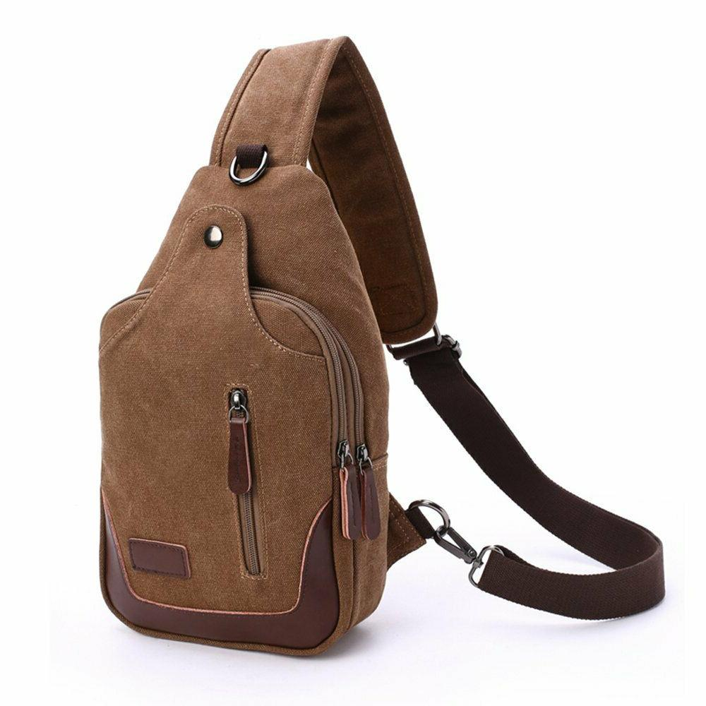 waterproof chest bag casual sling bag unbalance