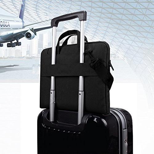 "Lacdo 15.6 Inch Waterproof Fabric Bag Notebook Sleeve Macbook Pro / 15.6"" ASUS Acer Lenovo HP Chromebook,"