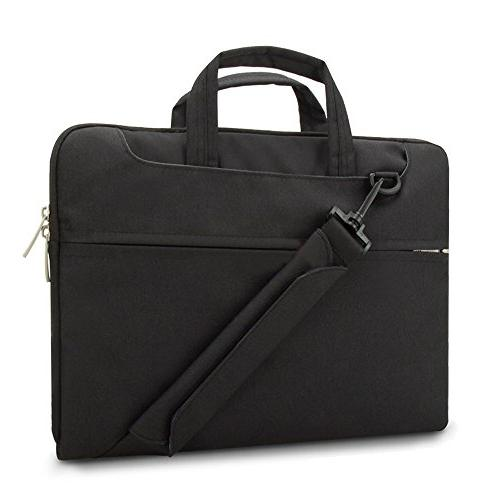 Lacdo 15.6 Fabric Bag Notebook Sleeve Compatible Macbook Pro 15.4-inch / ASUS Acer Lenovo HP