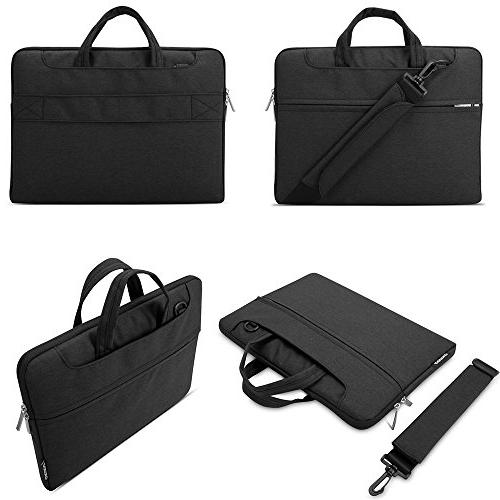 Lacdo Inch Fabric Laptop Bag Notebook Case Macbook 15.4-inch 2012-2015 / Protective ASUS Acer Lenovo HP