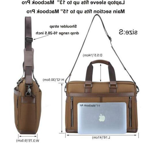Banuce Laptop Messenger Bag 13 inch Business for...