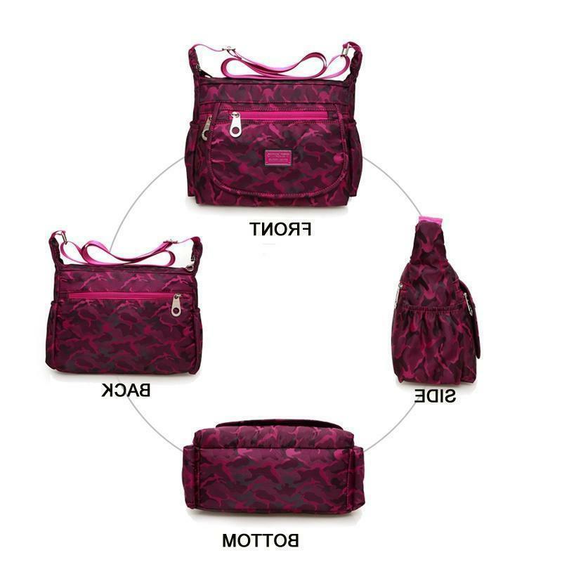 Waterproof Single-shoulder Bag Nylon Purse Women Lady
