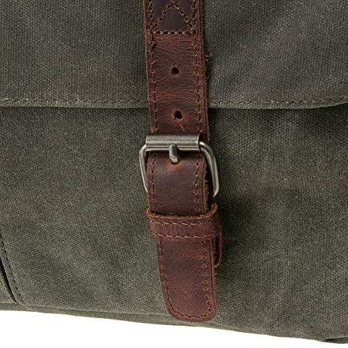 Waterproof Waxed Canvas Messenger Men Vintage bag/Briefcase