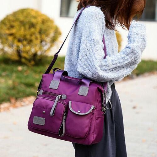 Waterproof Nylon Large Shoulder Bag Capacity Crossbody Bags
