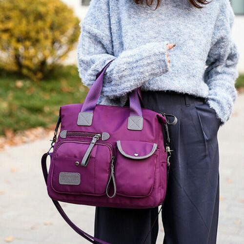 Waterproof Women Large Shoulder Bag Capacity Crossbody Bags