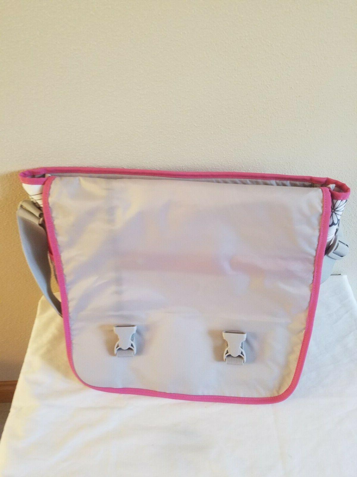 Jansport White Pink Floral Bag