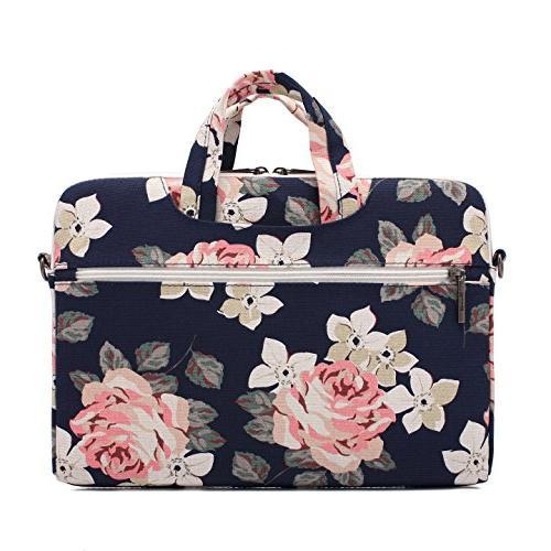 Canvaslife Canvas Shoulder Messenger Bag Case Sleeve 14 Laptop 15 Briefcase