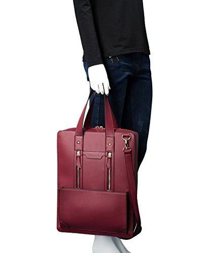 Estarer Women Business Handbag Inch Shoulder Laptop Work Bag
