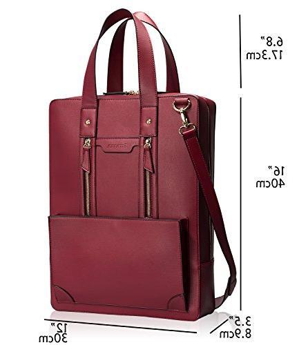 Estarer Women Handbag PU 15.6 Inch Shoulder Bag