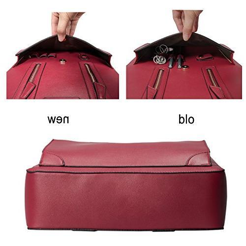 Estarer Women Handbag PU Inch Laptop Bag