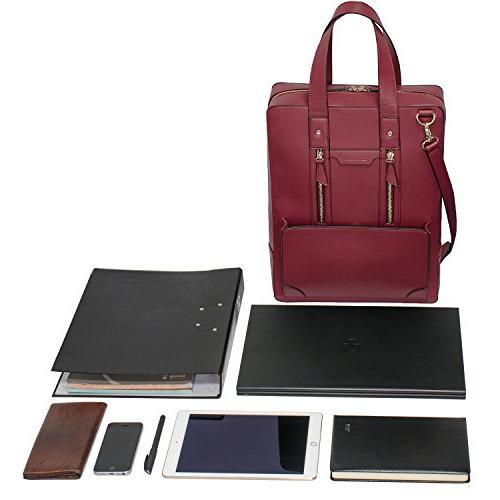 Estarer Business Handbag 15.6 Inch Shoulder Laptop Bag