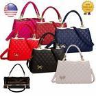 Women Fashion PU Leather Shoulder Bag Handbag Satchel Purse