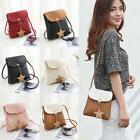 Women Faux Leather Small Handbag Satchel Messenger Cross Bod