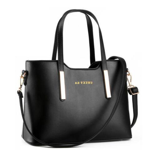 Women's Handbag Leather Messenger Shoulder Tote Bag Purse Cr