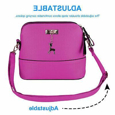 Women Ladies Shoulder Bag Crossbody Messenger Purse