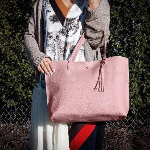 Women Leather Shoulder Ladies Messenger Satchel