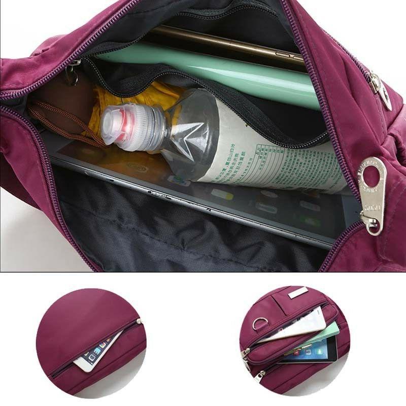 Women Messenger Shoulder Bag Bags Waterproof Nylon