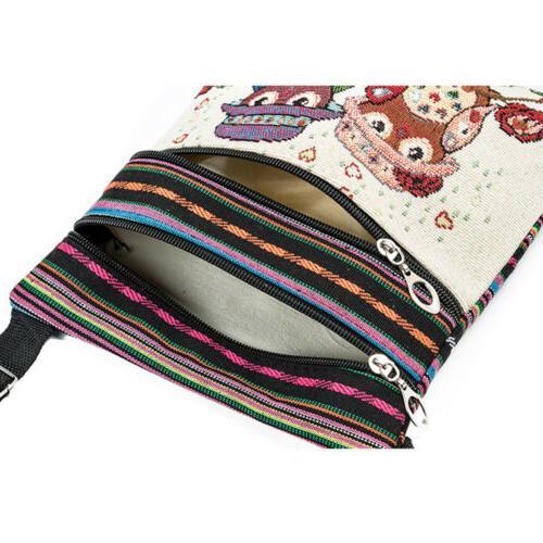 Women Messenger Crossbody Shoulder Purse Vintage Handbag US