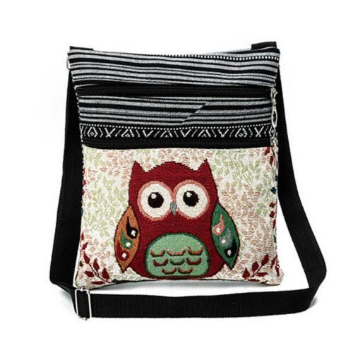 Women Owl Bag Crossbody Purse Vintage