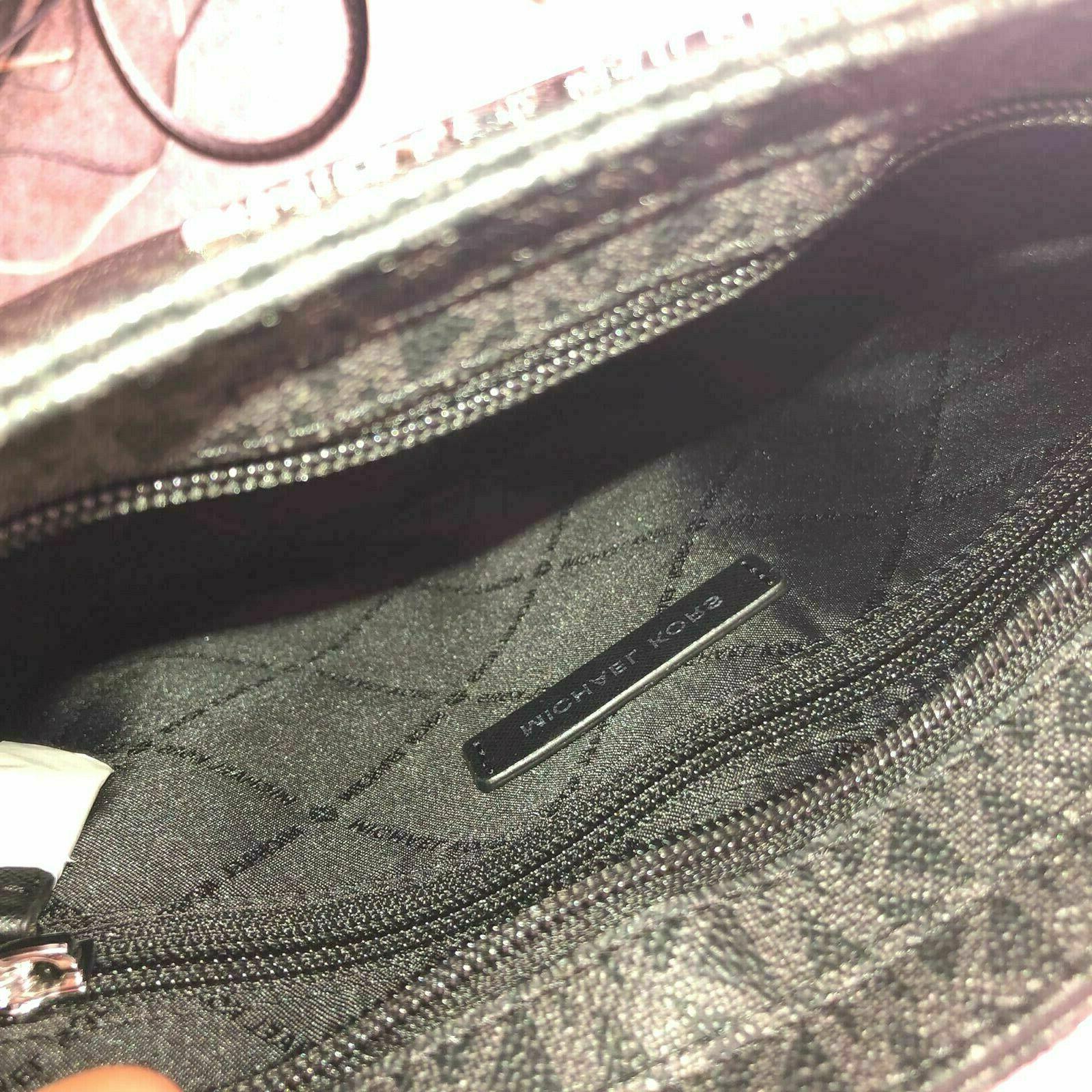 Michael Women Leather Crossbody Handbag Purse MK