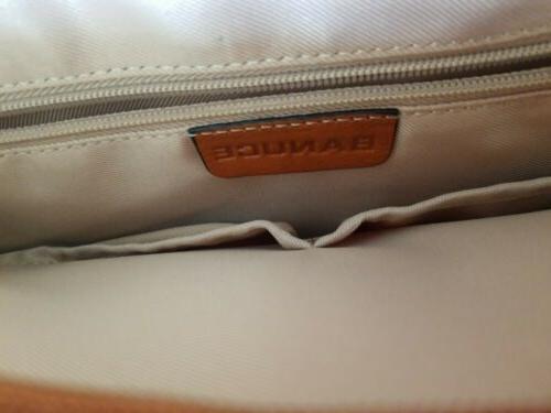 """Women's Full Grain Leather Satchel 14"""""""