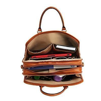 Banuce Full Leather Messenger Bag