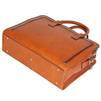 Banuce Women's Leather Bag Laptop Cas