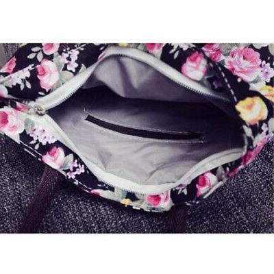 Women's Floral Handbag Hobo Bag