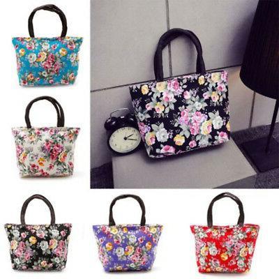 Women's Ladies Canvas Handbag Purse Messenger Hobo Satchel Bags
