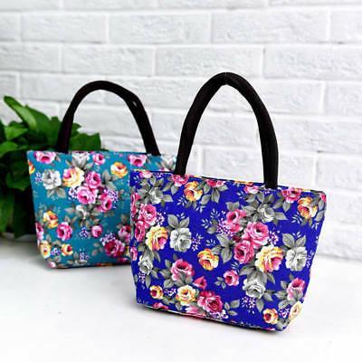 Women's Canvas Floral Handbag Purse Messenger Hobo Bag Satchel Bags