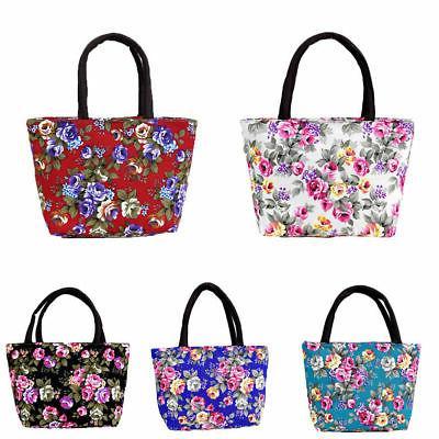 Women's Ladies Floral Handbag Tote Hobo Satchel Bags
