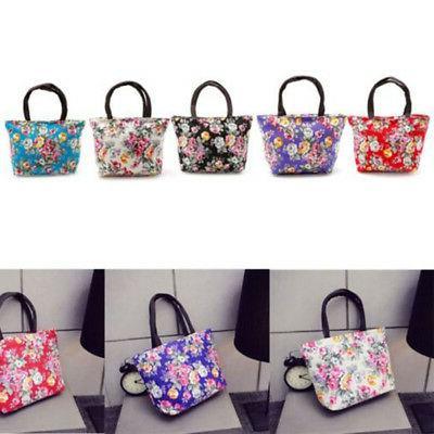 Women's Ladies Canvas Handbag Tote Purse Hobo Bag