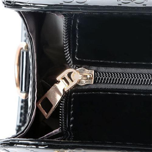 Women's Leather Bags Tote Messenger Hobo Bag Black