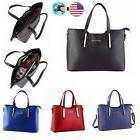 Women's Leather Handbag Shoulder Hobo Crossbody Bag Tote Mes