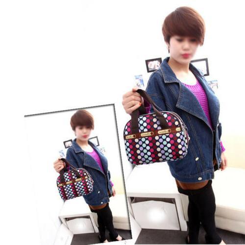 Women Satchel Shoulder Tote Messenger Waterproof Canvas Handbag
