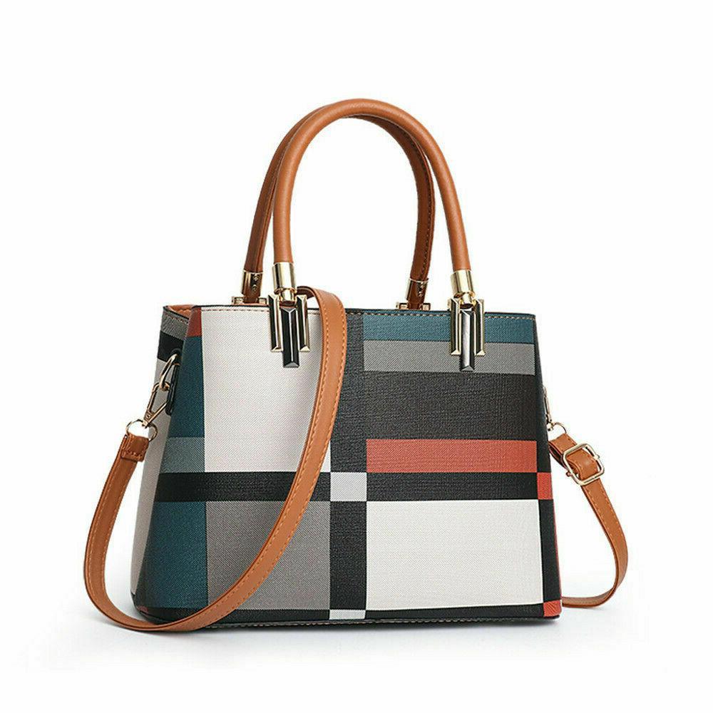 Women's Top Handle Handbags Satchel Tote Purse Shouler Bags