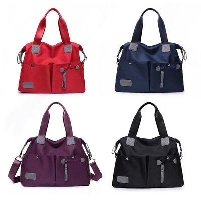 Women's Waterproof Shoulder Bag Messenger Handbag Large Capa