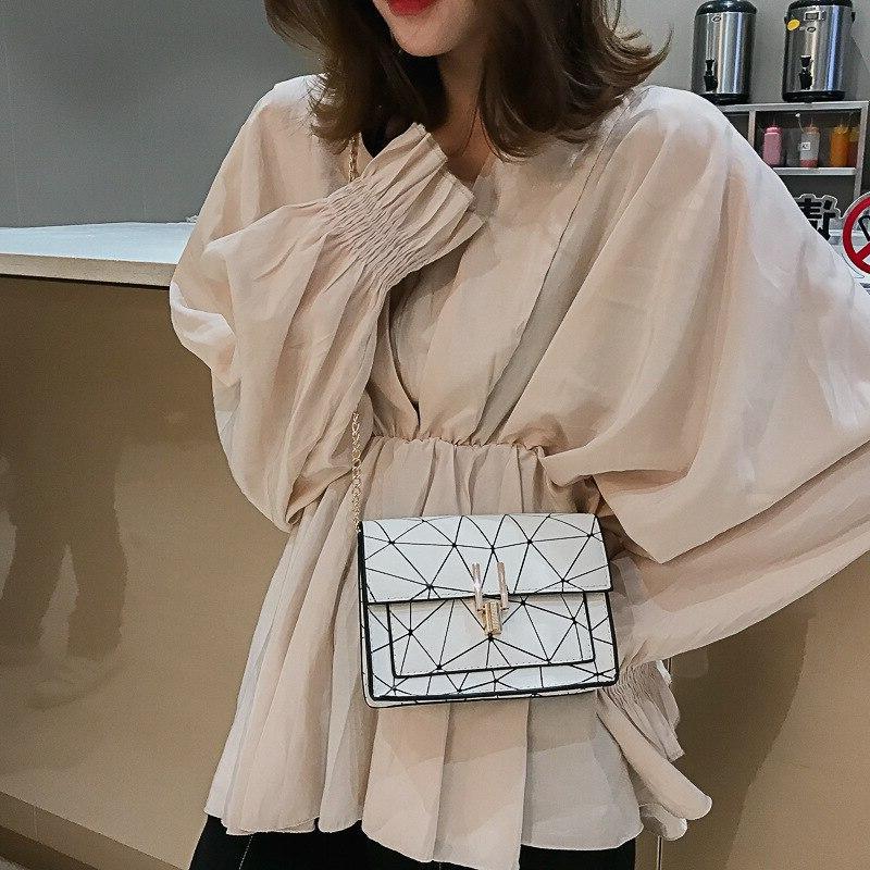Women summer of Messenger handbag chain printing wild shoulder <font><b>bag</b></font>