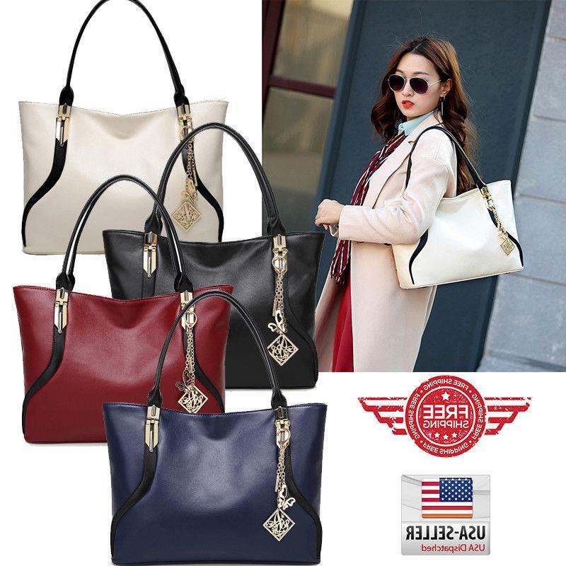 women tote bag leather handbag shoulder purse