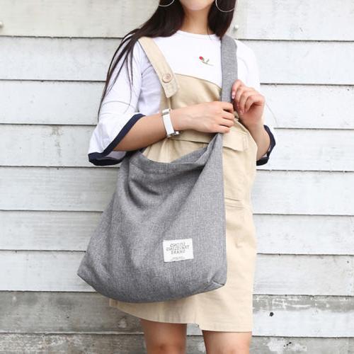 women vintage canvas hobo bag large tote