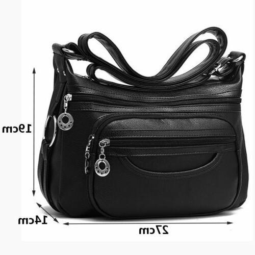 Womens Leather Shoulder Bag Handbag