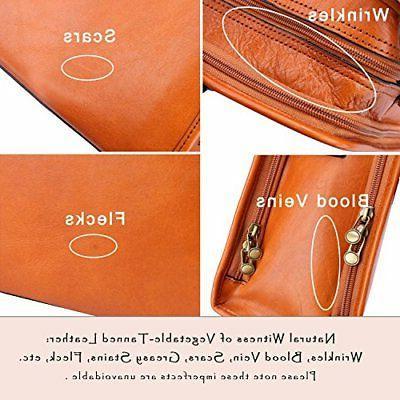 Banuce Womens Full Grains Leather Bag 14