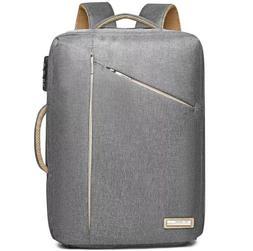 Laptop Backpack 15.6 inch Convertible Briefcase Messenger Ba