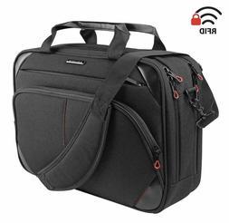 KROSER Laptop Bag 15.6 Inch Briefcase Messenger Bag Water Re