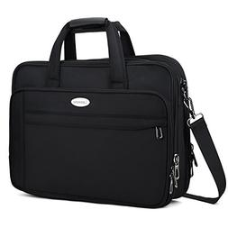 Aroprank 17 Inch Laptop Bag, Expandable Large Briefcase For
